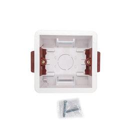 Товары для электромонтажа - Квадратная монтажная коробка 86мм для гипсокартона, 0