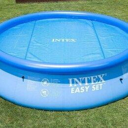 Прочие аксессуары - Покрывало плавающее для бассейна 244 см, Intex, 0