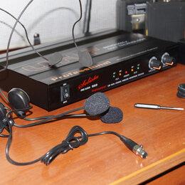 Радиосистемы и радиомикрофоны - SOLISTA SG-922 (HS) Радиосистема UHF, 2 головных…, 0
