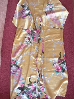 Домашняя одежда - Халат-кимоно домашний, 0