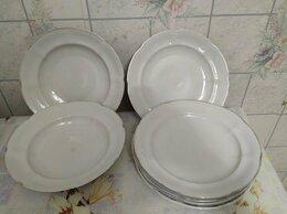 Тарелки - Большие фарфоровые тарелки, 0