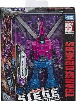Роботы и трансформеры - Трансформер - Spinister, 0