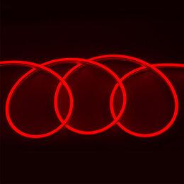 Светодиодные ленты - Гибкий неон 12в красный, 0