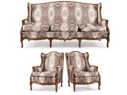 Диваны и кушетки - Набор мягкой мебели для гостиной: диван и пара…, 0