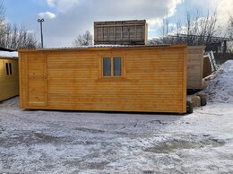 Готовые строения - Бытовка деревянная утеплённая 6х2.30 А-180, 0
