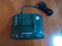 Аккумуляторы и зарядные устройства - Зарядное устройство Metabo ASC 55 Новое, 0