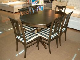 Столы и столики - Стол обеденный трансформер, 0