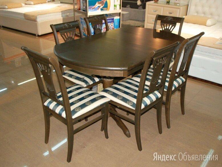 Стол обеденный трансформер по цене 24730₽ - Столы и столики, фото 0