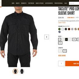 Рубашки - Рубашка 5.11 Taclite PRO Long Sleeve новая, 0