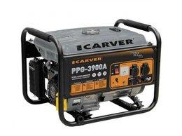 Электрогенераторы - Бензиновый генератор Carver PPG-3900A 3,2 кВт, 0