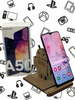 Мобильные телефоны - Смартфон Samsung Galaxy a50 64gb + коробка, 0