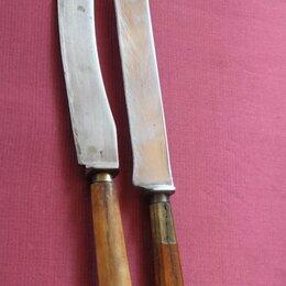 Посуда - ножи старинные стловые ретро, 0