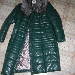 Пуховики - Пуховик зима с чернобуркой., 0