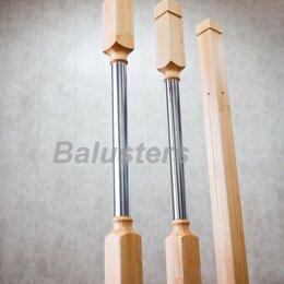 Лестницы и элементы лестниц - Балясины комбинированные дерево-металл, 0