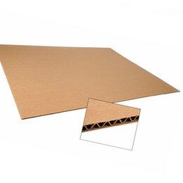 Упаковочные материалы - Гофролист из картона 2,5 метра х1,4 м для переезда, 0