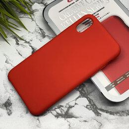 Чехлы - Чехол силиконовый Remax Kellen для iPhone X, красный, 0