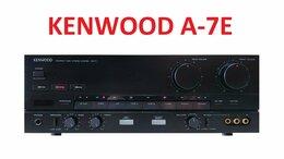 Усилители и ресиверы - Усилитель KENWOOD A-7E в хорошем состоянии , 0