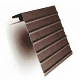 Пиломатериалы - J фаска (ветровая доска) Коричневый-3.00, 0