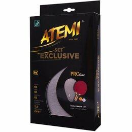 Ракетки - Набор для настольного тенниса ATEMI EXCLUSIVE, 0