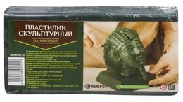 Лепка - Пластилин скульптурный 500гр. оливковый ПЛС-03…, 0