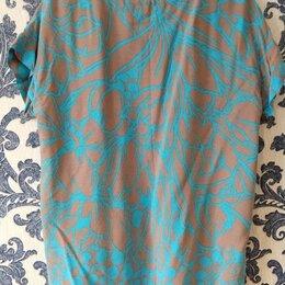 Блузки и кофточки - Блузка женская бирюзовая размер 48-50, 0