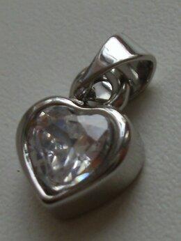 Кулоны и подвески - Подвеска «Sunlight сердце с фианитом», 0
