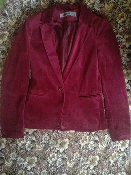 Пиджаки - Пиджак бордовый, 0