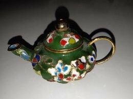 Заварочные чайники - Чайник заварочный. Клуазоне. Латунь. Конец 20…, 0