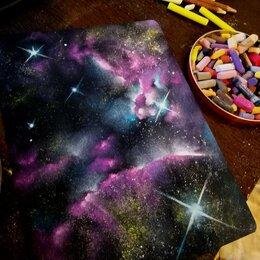 Картины, постеры, гобелены, панно - картина с космосом, 0