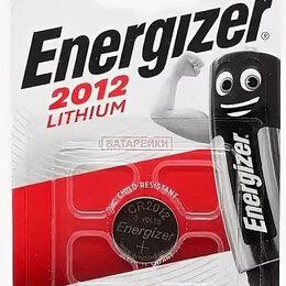 Батарейки - Батарейка дисковая литиевая energizer CR2012 BL1, 0
