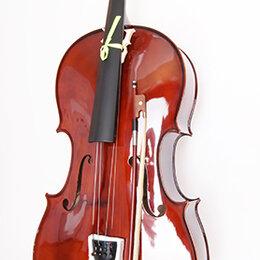 Смычковые инструменты - Виолончель Caraya 4\4 с чехлом и смычком, 0