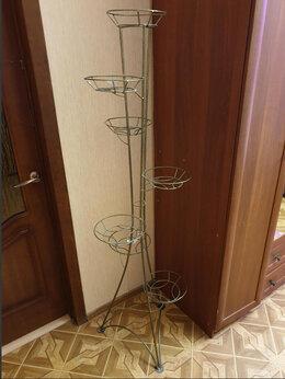 Горшки, подставки для цветов - Подставка под цветы, 172 см, 7 чаш, 0