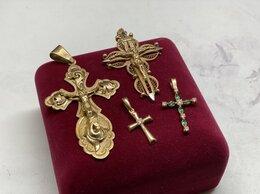 Кулоны и подвески - Золотой крест, 0