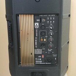 Аудиооборудование для концертных залов - комплект активной аккустики + микшерский пульт, 0