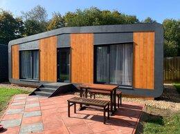 Готовые строения - Мобильный коттедж 31 м² Happy House STUDIO брус…, 0