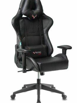 Компьютерные кресла - Кресло игровое Бюрократ VIKING 5 AERO BLACK, 0