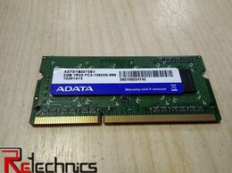 Модули памяти - RAM SO-DIMM Adata DDR3 2048/10600/1333, 0