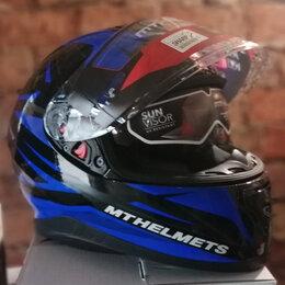 Мотоэкипировка - Шлем MT thunder effect(Размер M), 0