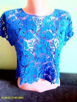 Блузки и кофточки - Гипюровый блузон, 0