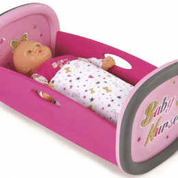 Игрушечная мебель и бытовая техника - Колыбель для пупса Smoby Baby Nurse 220313. Гарантия 14 дней!, 0