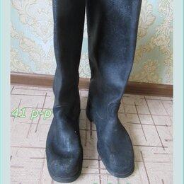 Обувь - Сапоги кирзовые  две пары. Размер 42  и 41, 0