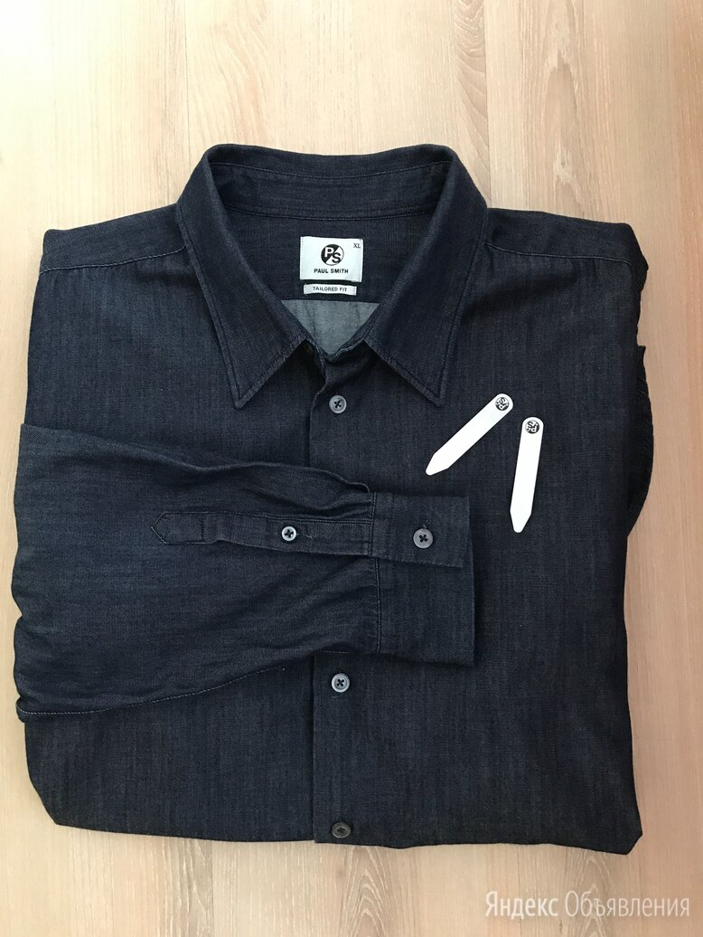 Paul smith Оригинал рубашка джинсовая XL по цене 4600₽ - Рубашки, фото 0