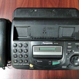 Системные телефоны - Факс Panasonic KX-FT64, 0