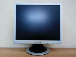 """Мониторы - Монитор ЖК 17"""" 5:4 Samsung 720N серебристый, 0"""