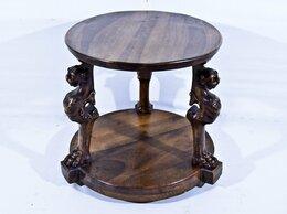 Столы и столики - Журнальный столик с драконами в стиле Чиппендейл., 0