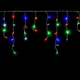 Новогодний декор и аксессуары - Светодиодная гирлянда типа Бахрома, 0
