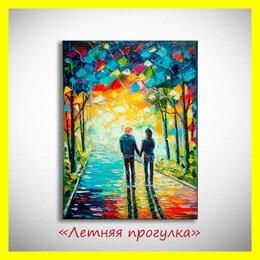 """Картины, постеры, гобелены, панно - 🎨Картина """"Летняя прогулка"""". Яркий подарок🎁.…, 0"""