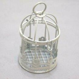 Рукоделие, поделки и сопутствующие товары - 22495 Клетка Y-745 (4 5см*7 0см) металл. белая -, 0