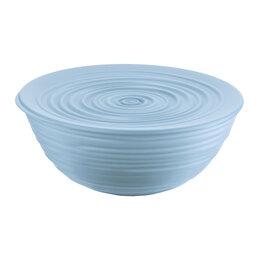 Блюда, салатники и соусники - Миска пластиковая с крышкой голубая 25 см Tierra   , 0