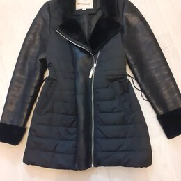 Куртки - Продам куртка-дубленка демисезон состояние отличное😊👌, 0